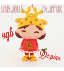Despina -X-mas doll - USBdolls - christmas pendrive 4GB